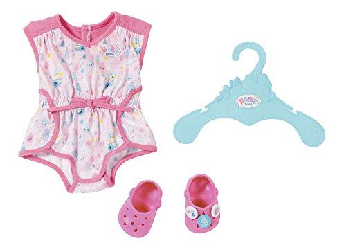 Zapf Creation 824634 Baby Born Shorty Pyjama mit Clogs, Bunt
