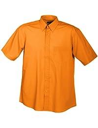 JAMES & NICHOLSON - chemise légère manches courtes - repassage facile - JN601 - Homme