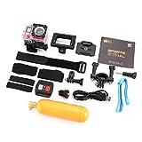 MachinYesity Telecamera X5 PRO Sports Camera 2H WiFi con Telecomando Action Cam Impermeabile Subacquea Cam Silver