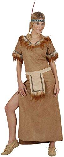 Widmann 57952-Kostüm Indianerin Mohawk, in Größe M (Fancy Dress Kostüm Indien)
