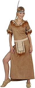 WIDMANN 57952?Disfraz de mujer Indiana Mohawk, de talla M