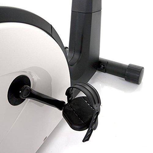 HAMMER PRO LINE Ergometer HX7, mit einer Leistung von 40-250 Watt, einem tiefen Einstieg für leichtes Aufsitzen und rutschsicheren Pedalen - 4