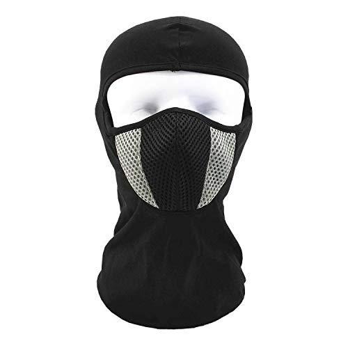 JAYE Ski Full Face Maske, Thermal Head Warmer Caps Cold Weather Windproof Waterproof Hood Winter Protective Masken Balaclavas Für Skiing Snowboarden Motorrad-Und Winterradsport,Gray