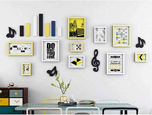 Foto an der Wand Minimalistische Moderne Fotowand Dekorrahmenwand Wohnzimmer Sofa Hintergrundwand Nordisches Restaurant ohne Nagelrahmen Hängende Wand Mediterraner Stil (Farbe: C)