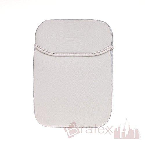 BRALEXX Universal Neopren 8 Zoll Tablet PC Hülle passend für LG G Pad 2 8.0, Grau