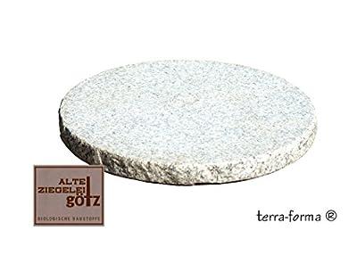 3 Stück Trittplatten Stepstone Granit grau-weiß Durchmsser ca. 35 cm von Terra Forma auf Du und dein Garten