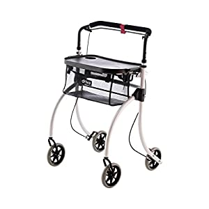 Drive Medical Roomba Indoor Rollator White