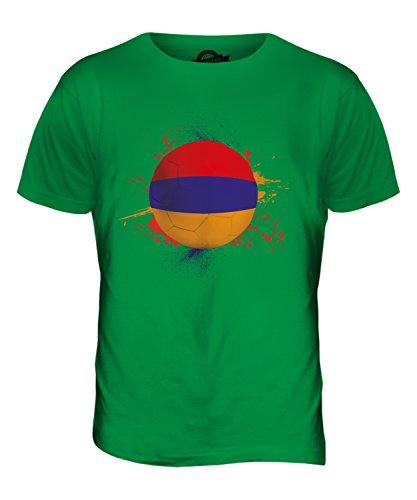 CandyMix Armenien Fußball Herren T Shirt Grün