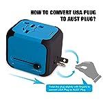 Adattatore-da-Viaggio-con-2-USB-30-USEUUKAU-Adattatore-Universale-da-Viaggio-con-due-fusibile-fusibile-di-ricambio-Utilizzati-in-pi-di-150-paesi-Caricabatterie