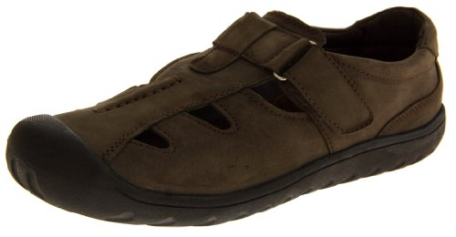 Footwear Studio, Sandali uomo Marrone (marrone)
