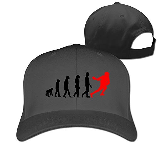 Cap Hat Evolution Lacrosse Hat Unisex-Adult Ash Baseball Caps Black