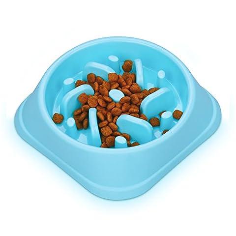 wangstar Pet PUZZLE interactif pour chien Fun Feeder Mangeoire Bol lent, ballonnements Arrêt Bol Labyrinthe, lent Bol avec design antidérapage