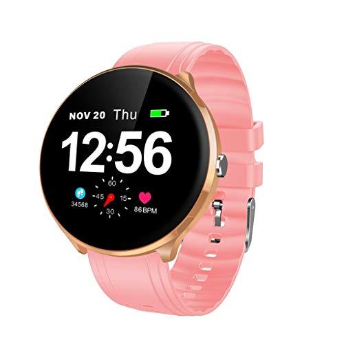 TriLance V12 Smart Watch Wearable BT4.0 Laufschrittzähler GPS Fitness Tracker Uhr Displaygröße 1,3 Zoll Remote-Fotografie Fitness Tracker Sport Uhr für Herren Damen - Case Audio Sms