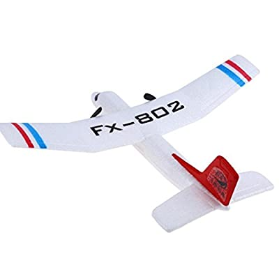 MuSheng TM Flybear FX - 802 2.4GHz 2 Channel EPP Fixed-wing Aircraft Front-pull Dual Propel