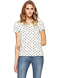 United Colors of Benetton Women's Quilted Regular Fit T-Shirt