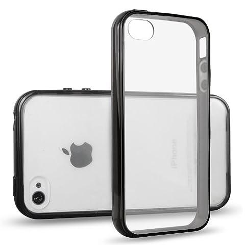 JETechà iPhone 4/4S Case Coque Housse Etui Shock-Absorption Bumper et