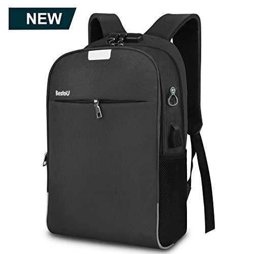 Rucksack herren arbeit business laptop rucksack damen Anti-diebstahl wasserdicht 15,6 zoll für Schule Reise Arbeit - Minimalistischer Rucksack