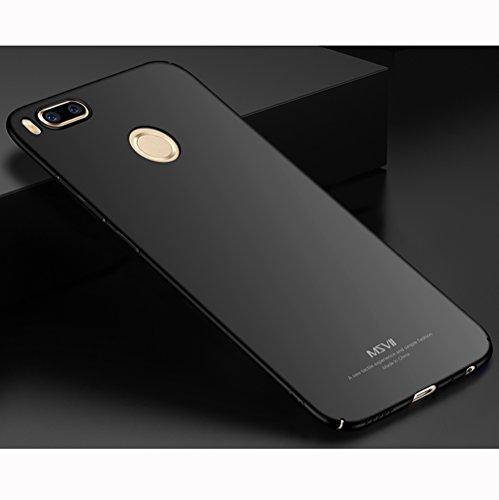 Coque Xiaomi Mi 5X, MSVII® Très Mince Coque Etui Housse Case et Protecteur écran Pour Xiaomi Mi 5X - Violet JY00336 Noir