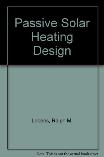 Passive Solar Heating Design