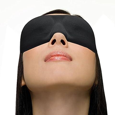xikezan 3D Masque de Sommeil Ultra Léger, ultra doux et soyeux profilée masque masque de voyage léger fards à paupières de blocage pour dormir et veille, garantie de satisfaction