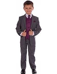 Amazon.co.uk: Purple - Suits & Blazers / Boys: Clothing
