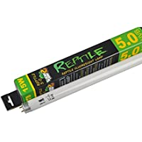 LUCKY 5.0 Lámpara de terrario tropical fluorescente, 15 W, 45,72 cm, T8
