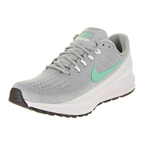 41q caQW5ZL. SS500  - Nike Women's Air Zoom Vomero 13 Light Pumice/Green Glow Running Shoe 6 Women US