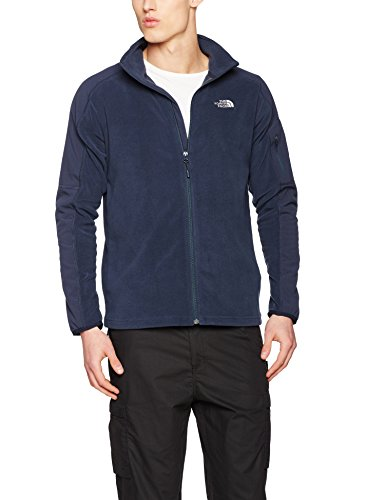 The North Face Herren M Glacier Delta 1/4 Zip Pullover Urban Navy/Urban Navy