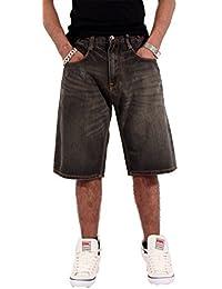 Rocawear Hombre Niño Doble R Estrella Holgado Patinadora Hip Hop Vaqueros Cortos Is G Time Nappy Money