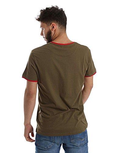 Gaudi jeans 71BU64076 T-shirt Man Verde