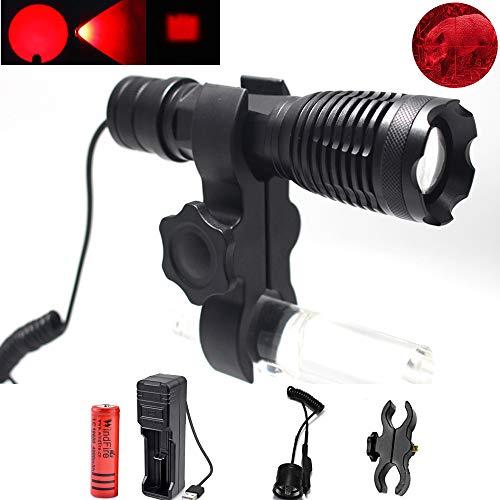 Linterna LED de Caza Roja