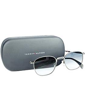 Tommy Hilfiger Unisex-Erwachsene Sonnenbrille TH 1469/S 9O, Schwarz (Smtt Dkruthe), 52