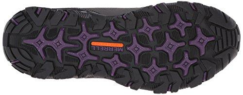 Merrell Polarand Rove Moc Hiver Chaussures Imperméables Slip-on Granite