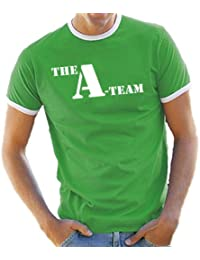 A-Team Contrast / Ringer T-Shirt S-XXL diff. Color