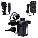 Hihey Pompe à air électrique Pump Pompe électrique Multifonction avec 3...