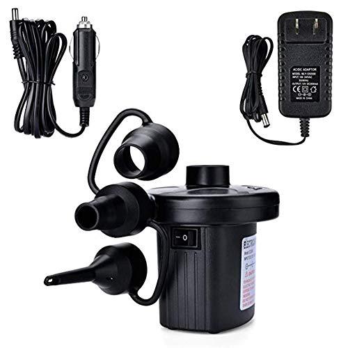 Pompa elettrica multifunzionale della pompa di aria Hihey Pompa elettrica multifunzionale con il compressore dell\'ugello di 3 aria per i materassi gonfiabili Letti gonfiabili degli animali o campeggio