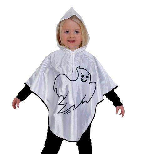Kleiner Geist Halloween Cape Umhang mit Kapuze Baby Kleinkind (Spinne Kostüme Kleinkind Kleine)