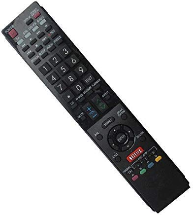 hotsmtbang Ersatz-Fernbedienung für SHARP rrmcga840wjsa lc-40le820un lc-60le845u lc-70C6400u Samrt 3D AQUOS Plasma LCD LED HDTV TV