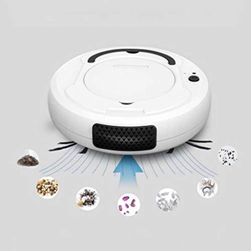 XINYAN JIA 3 En 1 Multifunción Aspirador Robot, USB Carga Ultra Delgado Silencioso Aspirador, 1800PA...