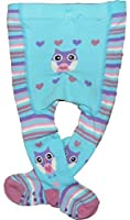 Baby Girls Tights Pictured Bum Funky Patterns Three Styles 0-6M up to 18-24M
