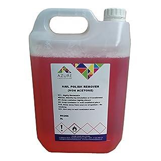 Azure Nail Polish Remover nicht Aceton sanft auf Haut, real & Acryl Nägel–5L