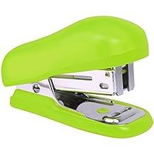 Rapesco 1411 Bug Mini Heftgerät mit Typ 26/6 mm Heftklammern (12 Blatt) Tacker Hefter Grün