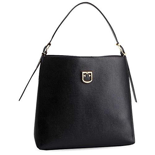 FURLA Hobo Bag Belvedere M ONYX