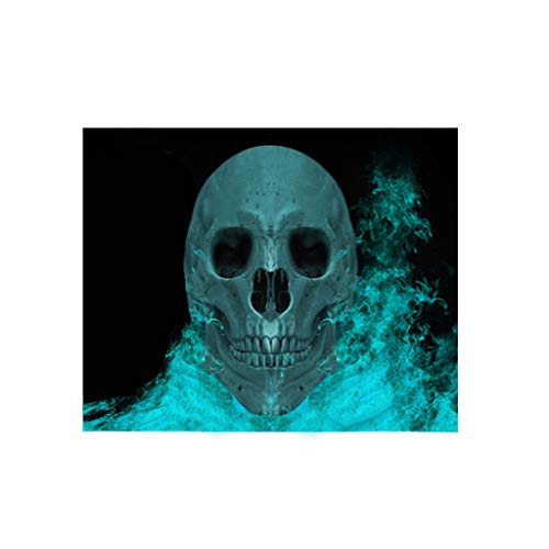 WOBANG Halloween deko, Halloween-Thema Creative Halloween Dekoration Halloween-Badetuch-Tapisserietapisserie Halloween Karneval verkleiden Sich Haunted House/Themenbar Dekoration Anhänger (150x80cm) -