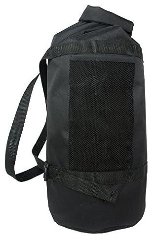 24Bottles Sportiva Bag - sacs à dos (Noir, Monotone, Cotton, Polyester, Poche latérale, Boucle à libération latérale)