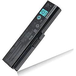 BYDT Standard Série PA3817U-1BRS PA3818U-1BRS PA3819U-1BRS Batterie pour Toshiba Satellite C650 C650D C655 C660 C660D C670 C670D L750 L750D L755 Ordinateur PC Portable [Li-ION 6-Cell 10.8V 4400mah]