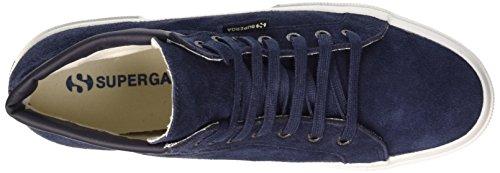 Superga Herren 2204-Suem Gymnastikschuhe Bleu (516 Blue)