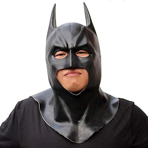 Der Batman Wahre Kostüm - CHXY Batman Mottoparty Masken Kind Erwachsener Helm Halloween Maske Cosplay Hüte Kopfbedeckung Karneval Schminke Zubehör