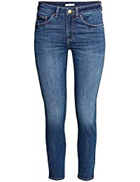 35684968 Ex Zara Ladies New Woman Sand wash Denim Spandex Summer Jeans Slim Fit  Trouser