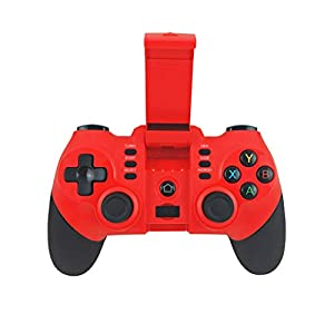 2019 Neuestes !!!Bluetooth Game Gamepad Controller, Bloodfin Joystick Joypad Direktes Spiel Trigger Sensitive Shoot Aim Joysticks Gamepad Shooter Zubehör für PUBG iOS/Android Universal